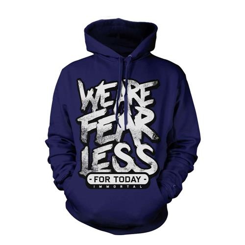 Fearless Navy Hooded