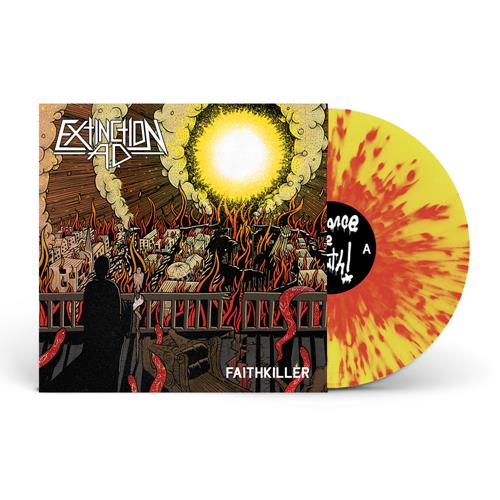 Faithkiller Red/Yellow Splatter LP