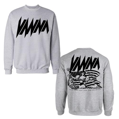 Girl Heather Grey Crewneck Sweatshirt