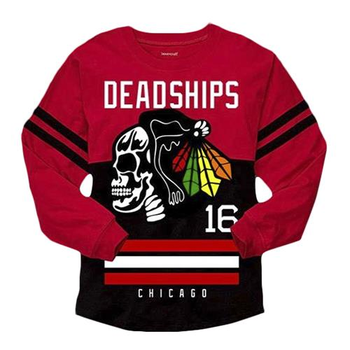 Hawk Red/Black Long Sleeve Jersey