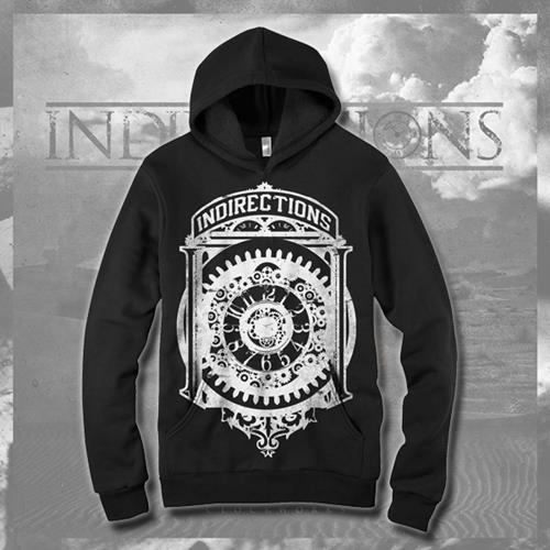 Clockwork Black Hooded Sweatshirt