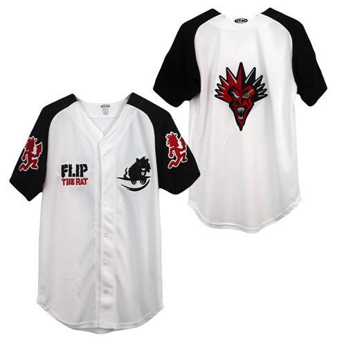 Flip The Rat White Baseball