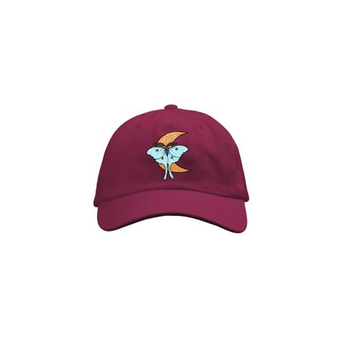 Yvette Young Moth Maroon Dad Hat