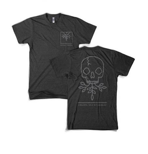 Emblem Skull Char-Black