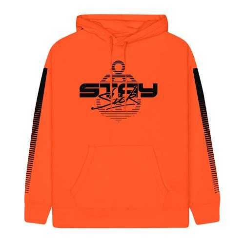 1980'S Neon Orange