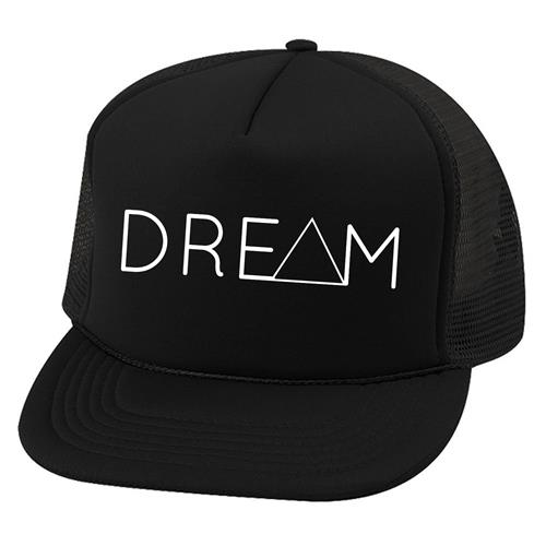 Dream Records Triangle Logo Black