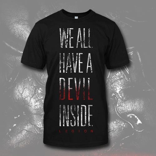 Devil Inside Black T-Shirt