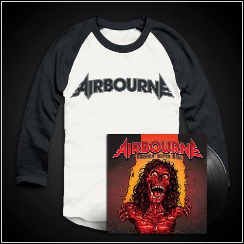 Breakin' Outta Hell LP & Baseball Shirt