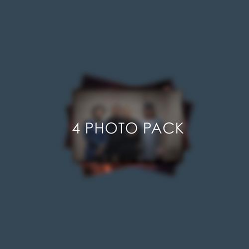 Set Of 4  Photo Pack