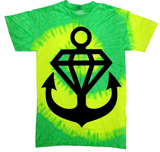 Anchor Diamond Tie Dye