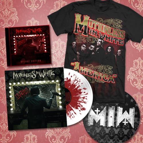 Motionless In White Mega Bundle Fear Merchnow Your