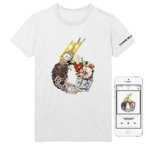 Investments 6 White T-Shirt + Album Digital Download