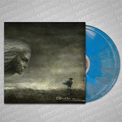 Disillusion Blue/Gray Starburst LP