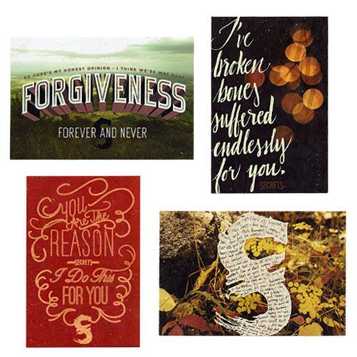 Rendition Postcards (Set Of 4)