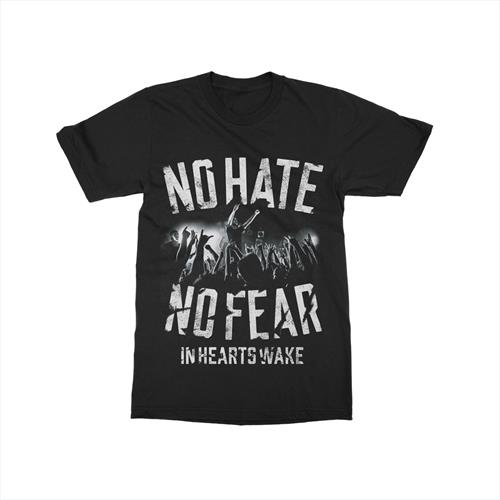 No Hate Black T-Shirt