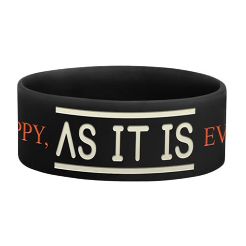 Never Happy, Ever After Black Wristband