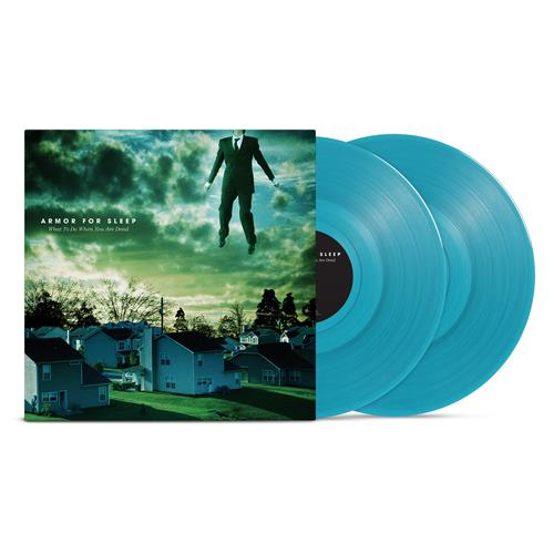 What To Do When You Are Dead: 15th Anniversary Edition Transparent Blue-Green Vinyl LP