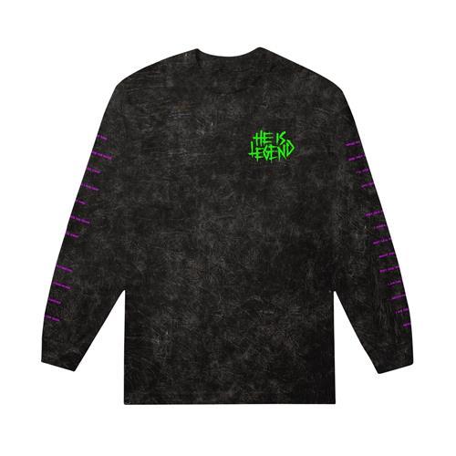 Neon Bat Mineral Black