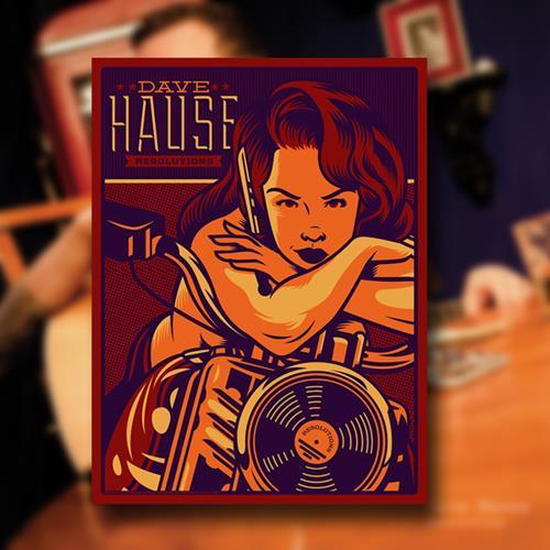 Dave Hause El Jefe Screen-Printed Poster