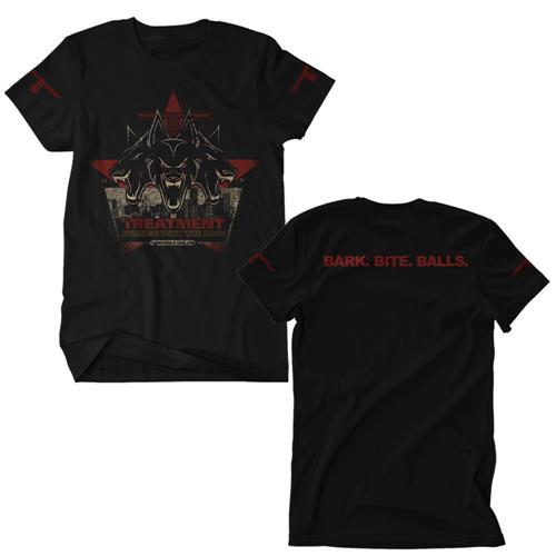 Bark, Bite, Balls Black T-Shirt