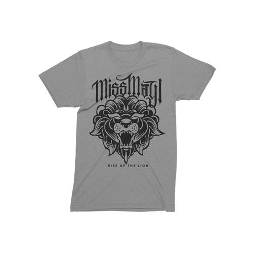Rise Of The Lion Heather Grey T-Shirt