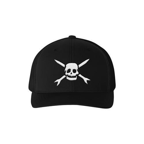 Emblem Black Trucker