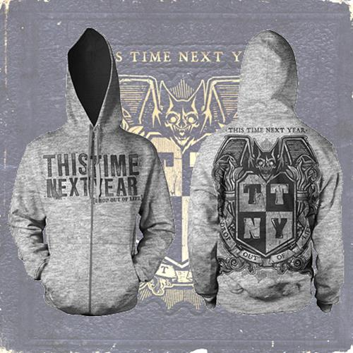 Drop Out Of Life Crest Heather Gray
