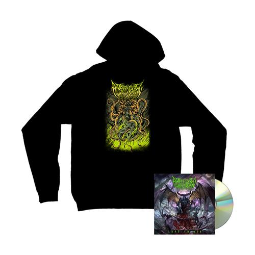 Left To Die CD + Octopus Hoodie