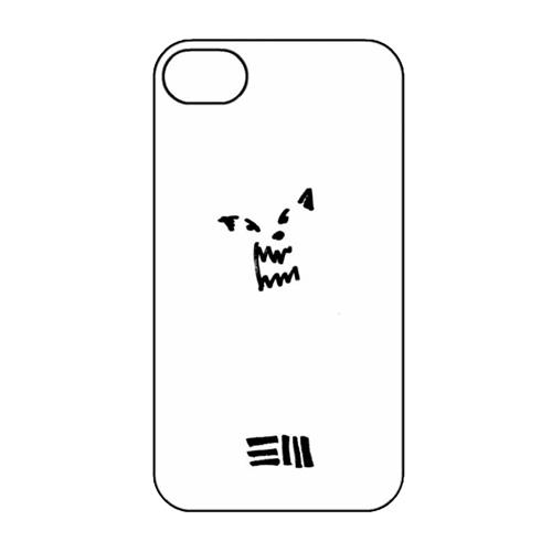 Wolf White iPhone Case