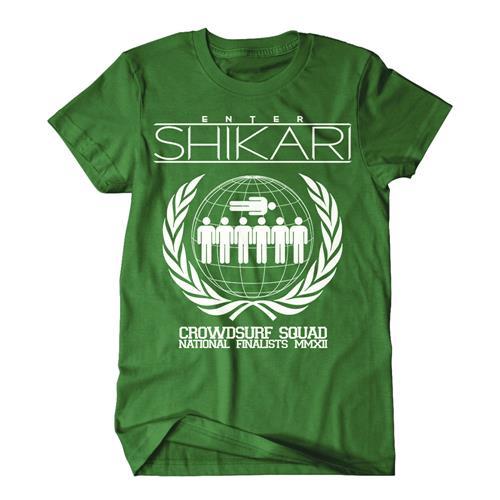 Crowdsurf Squad Green