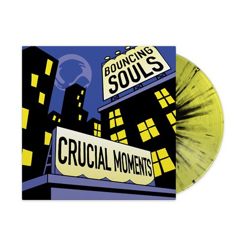 Crucial Moments Highlighter Yellow W/ Black Splatter