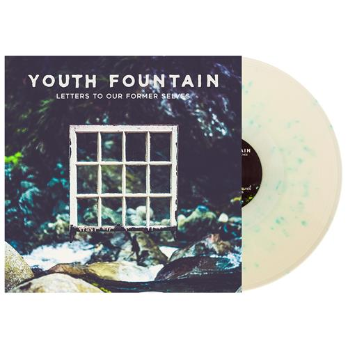 Letters To Our Former Selves Milky Clear W/ Electric Blue Splatter