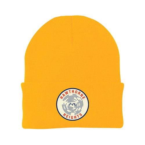 Bad Frequencies Yellow Patch Beanie