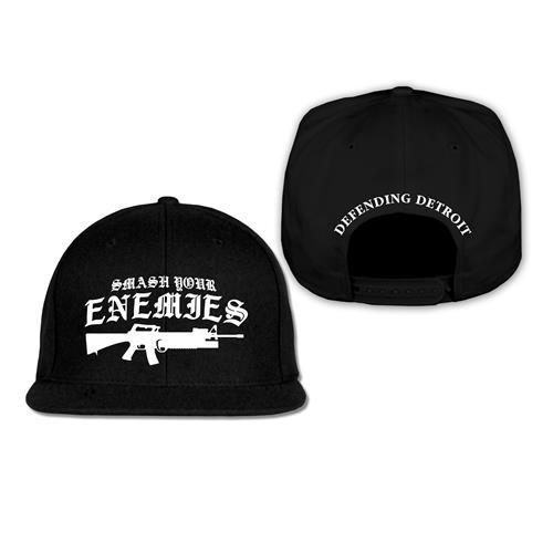 Gun Black Snapback