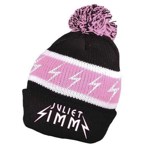 Bolt Black/Pink Pom