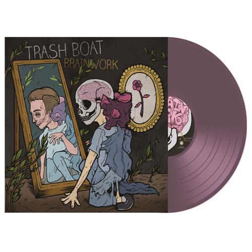 Brainwork Transparent Purple Vinyl LP