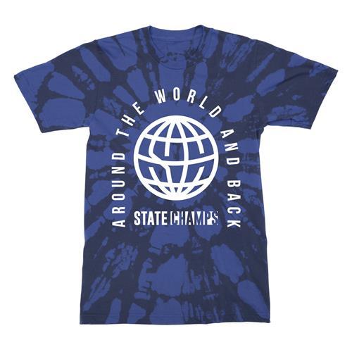 Global Blue Bleach Dye