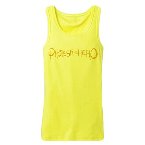 Logo Yellow Girls Tank Top