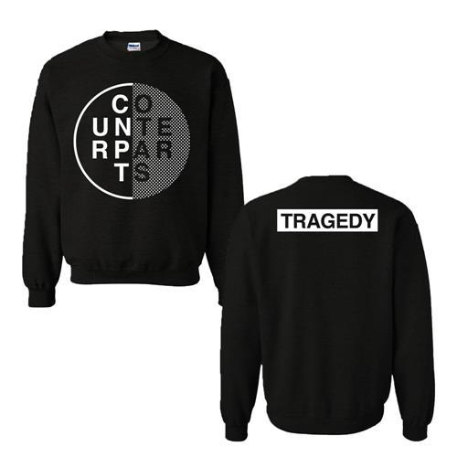 Circle Black Crewneck Sweatshirt