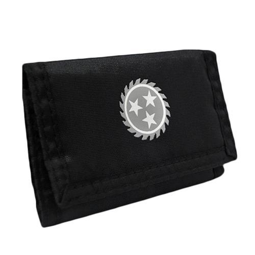 Sawblade Velcro Wallet