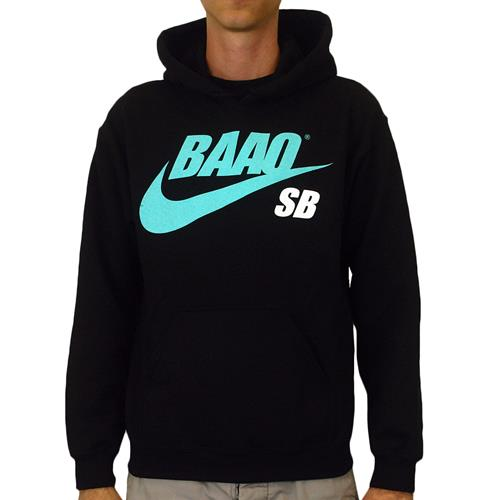BAAO SB Black Hooded Sweatshirt *Clearance*