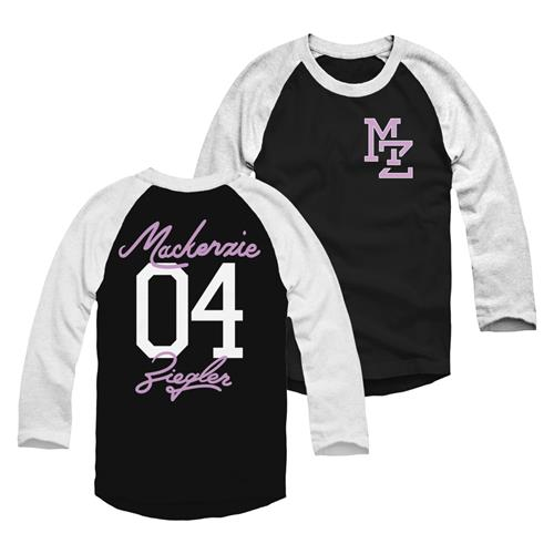 04 Black/White Baseball T-Shirt