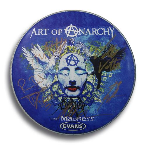 The Madness Signed Drumhead