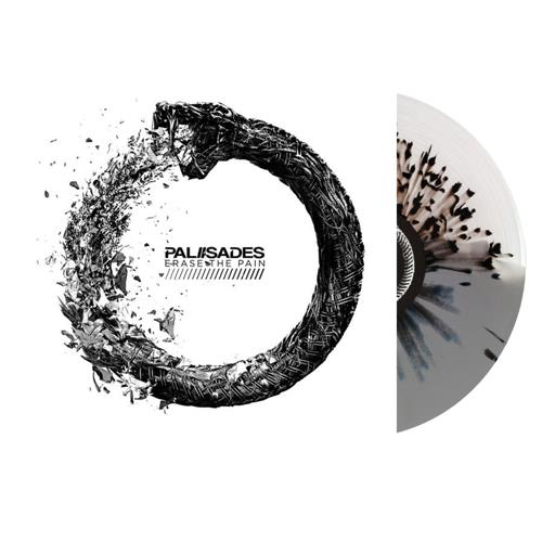 Erase The Pain Clear/ Grey W/ Black Splatter