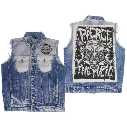 PTV Custom Denim Vest