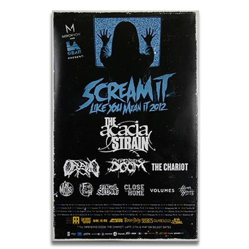 Scream It Like You Mean It 2012 Blue Tour