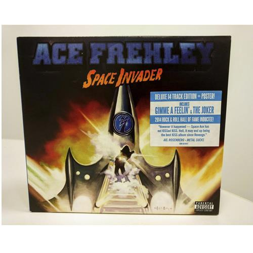 ACE FREHLEY - SPACE INVADER DELUXE DIGI-PAK CD