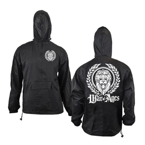 Lion Black Windbreakers
