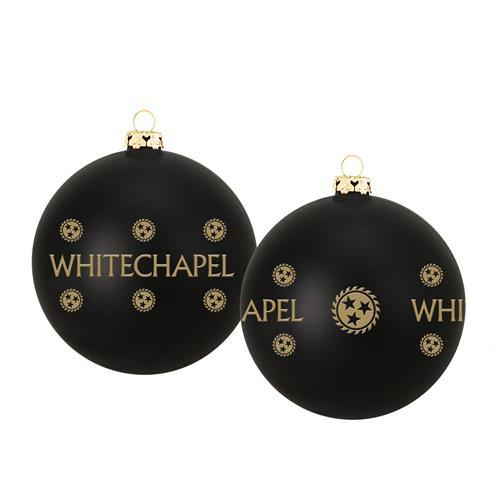 2019 Holiday Black Ornament