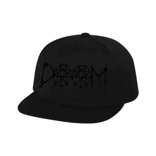 Doom Black Snapback